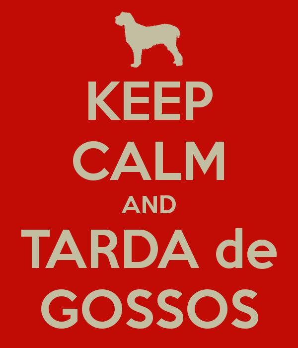 KEEP CALM and TARDA de GOSSOS